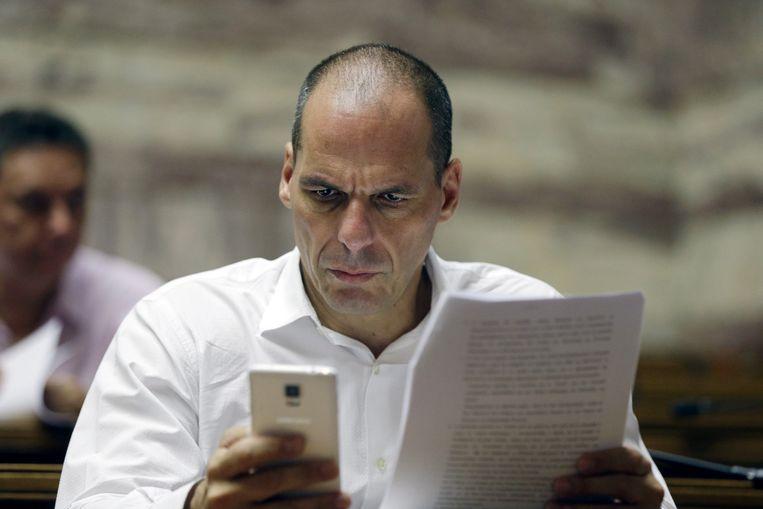 Yanis Varoufakis Beeld AP