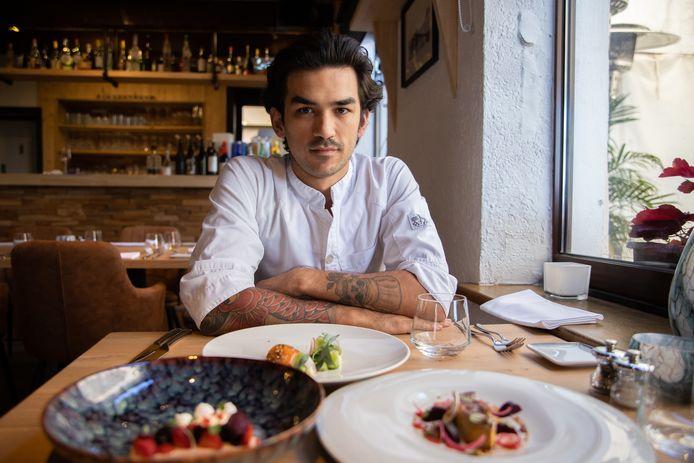 Chef Bodi de Munck draait in Den Burtman warm voor zijn nieuwe restaurant.