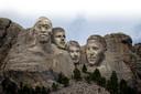 Mount Rushmore, maar dan anders. Met Romelu Lukaku, Thibaut Courtois, Kevin De Bruyne en Eden Hazard.