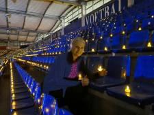 Betoverend Willem II Stadion: 'Voor iedereen die een lichtje kan gebruiken'