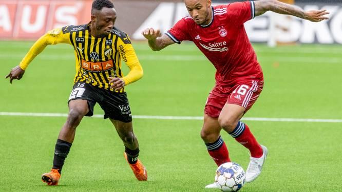 """Van ongewenst tot onmisbaar. Funso Ojo dwingt nieuwe kans af bij Schotse Aberdeen: """"Vijf weken naar uitgang geduwd en nu plots titularis"""""""