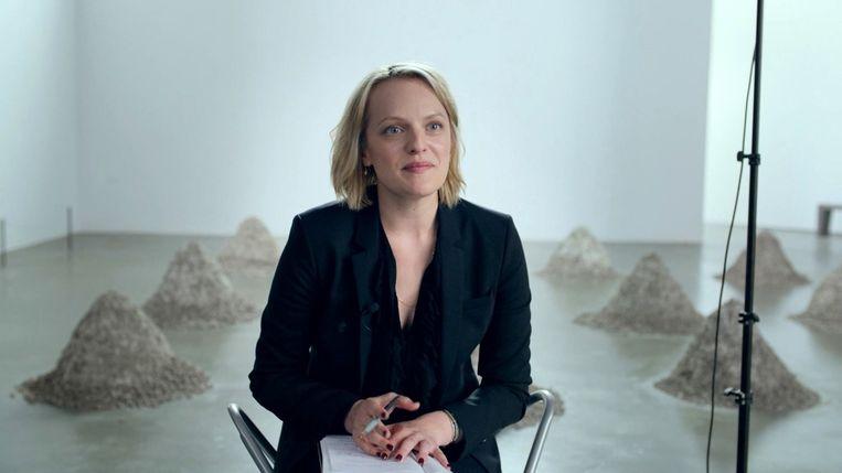 Elisabeth Moss in The Square van Ruben Östlund Beeld