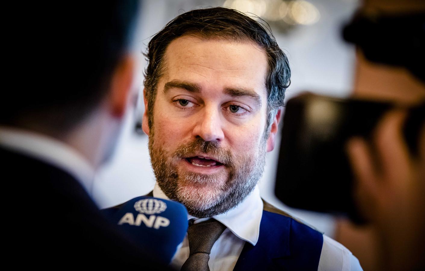 VVD-fractievoorzitter Klaas Dijkhoff