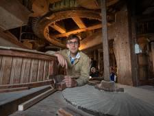 En dat is 5: een energietechnoloog uit Zwolle mag zich molenaar in Kampen noemen
