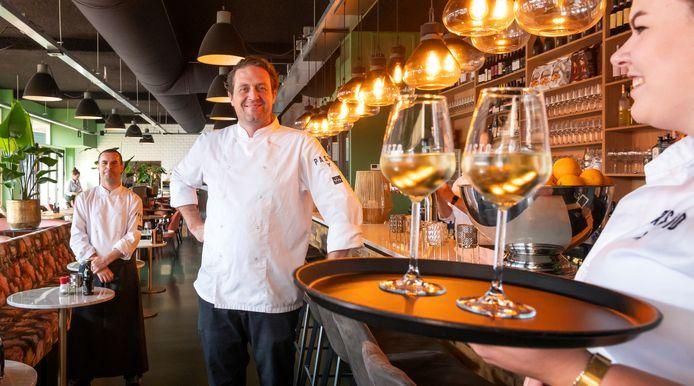 Chef Vincent Greevink en eigenaar Ralph van Bekkum.
