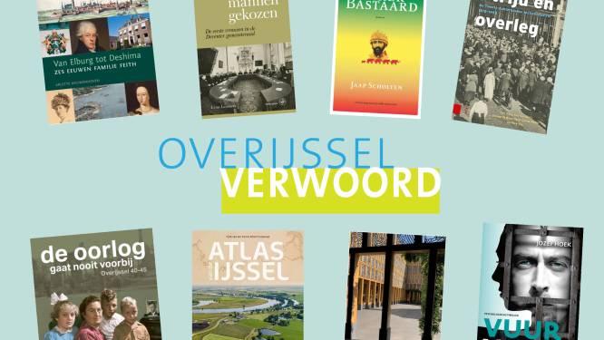 Acht boeken maken kans op titel 'Overijssels Boek van het Jaar'