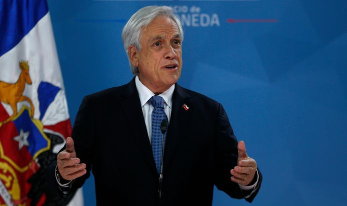 Chileense president Sebastian Piñera.