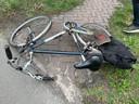 Een fietser werd zaterdagmiddag aangereden in Helvoirt.