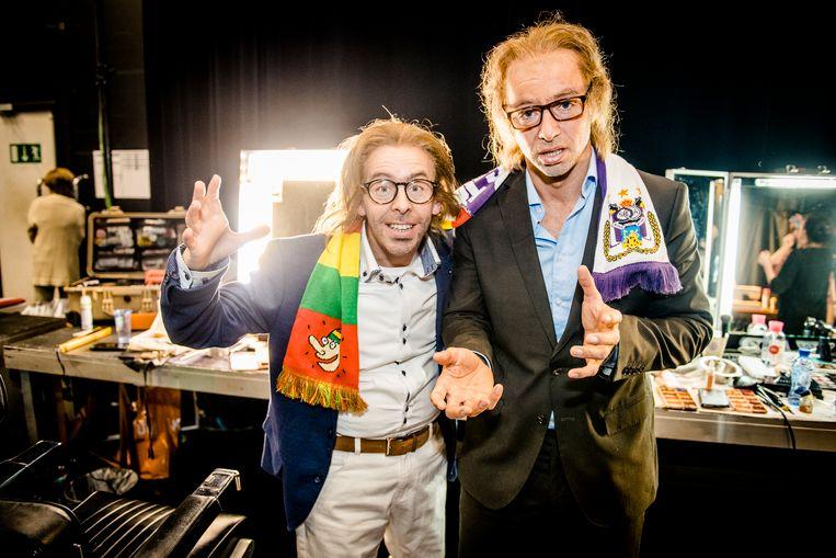 Jonas Van Geel en Louis Talpe