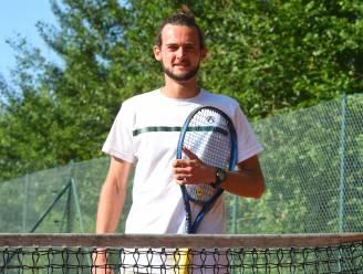 """David Van Moer (TK De Berken) wint twee finales bij heren 2: """"Een begenadigd dagje op de tennisbaan"""""""