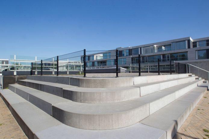 Schoolgebouw 't Slingertouw aan de Waterlinie in Meerhoven.