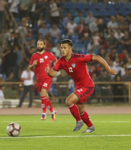 """FC Den Bosch-voetballer Najim Haidary vreest voor zijn familie in Afghanistan: ,,Het is echt enorm eng"""""""