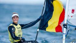 Emma Plasschaert klimt naar derde plaats voor medaillerace van morgen
