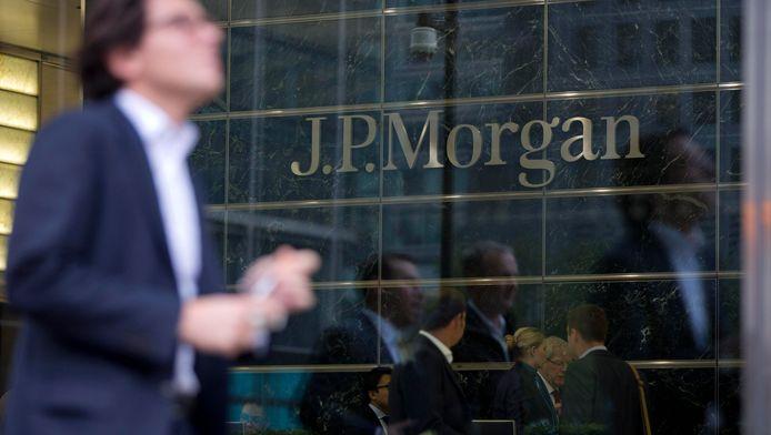 Archiefbeeld van JP Morgan in Londen.