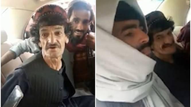 Vastgebonden komiek maakt net voor zijn executie nog grapje over talibanstrijders