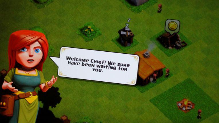 Clash Of Clans is een uithangbord van Supercell. Beeld REUTERS