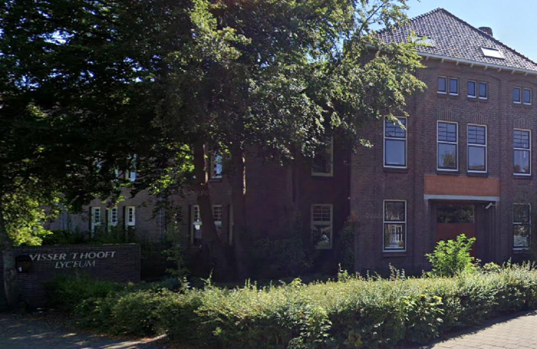 Het Visser 't Hooft Lyceum in Leiden.