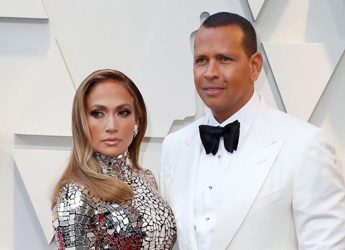 Jennifer Lopez en Alex Rodriguez in betere tijden