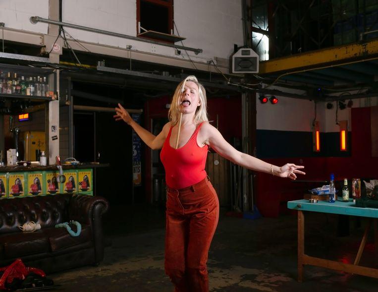 Mirjam's Swing – Garage Noord.  Beeld Zindzi Zwietering