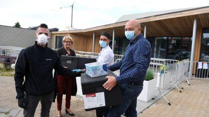 Kampenhoutse frituur 't Friethuis levert pakjes friet aan rusthuisbewoners