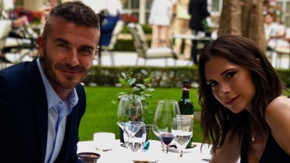 David en Victoria Beckham vieren huwelijksverjaardag... met fles wijn van 1.750 euro