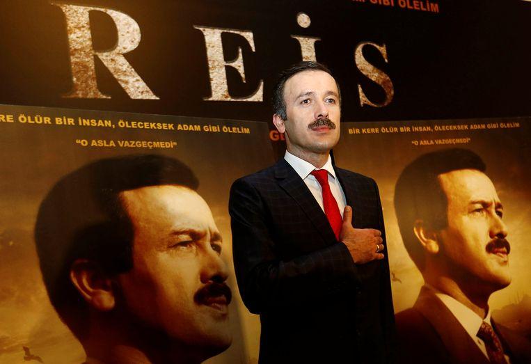 Reha Beyoglu is de acteur die Erdogan vertolkt in de film.