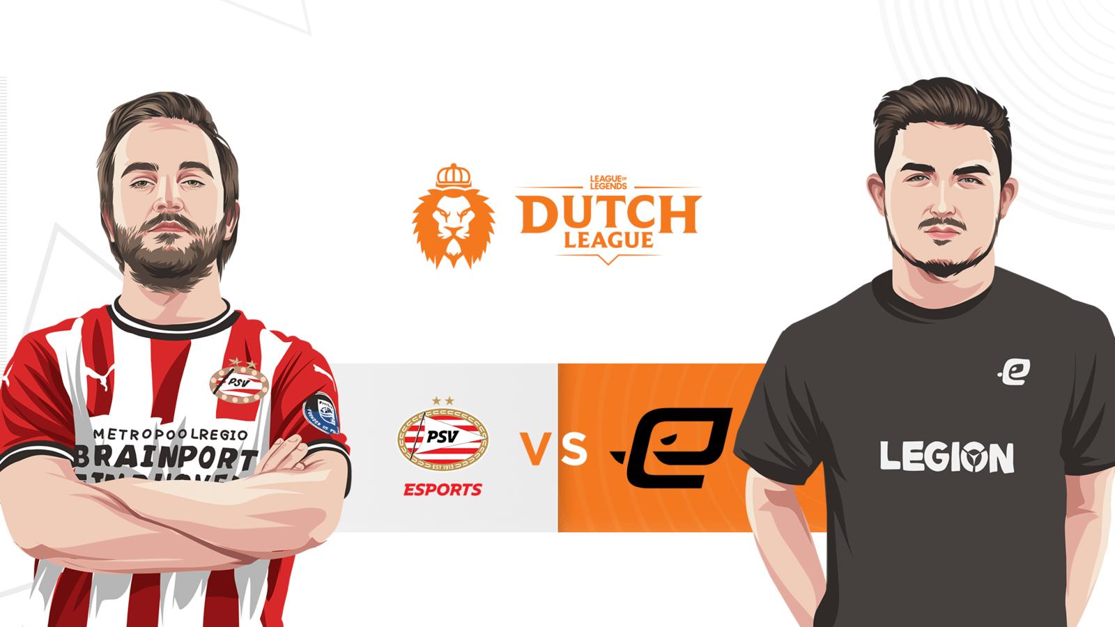 Het treffen tussen PSV Esports en Echo Zulu in de Dutch League is erg belangrijk voor de verdeling van de play-offplekken aan het einde van het seizoen.