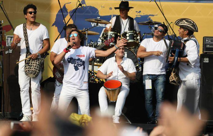 Benefietconcert Live Aid Venezuela