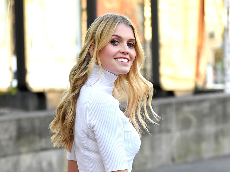 Lady Kitty Spencer Beeld Getty Images