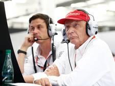 Teambaas Wolff en Lauda tekenen nieuw contract bij Mercedes