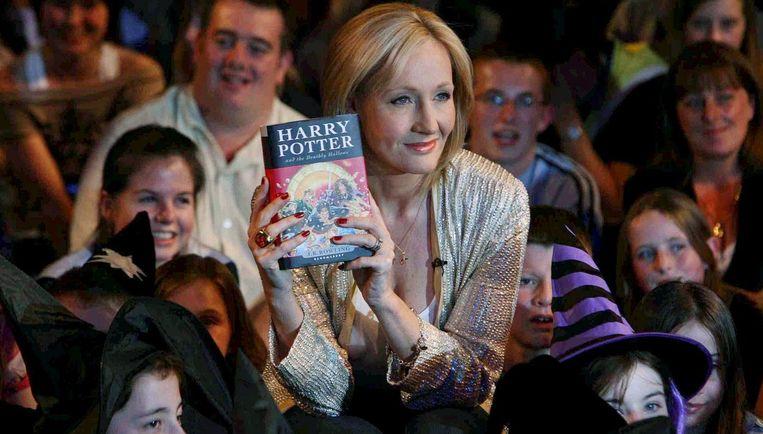 J.K. Rowling zou het idee voor een tovenaarsleerling hebben gestolen. Foto EPA Beeld