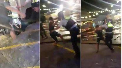 Broers slaan politie, rechter slaat terug
