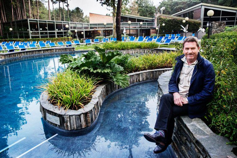 Lottowinnaar Herman Van Thielen investeerde met succes in het wellnesscenter het Hezemeer. Beeld Tim Dirven