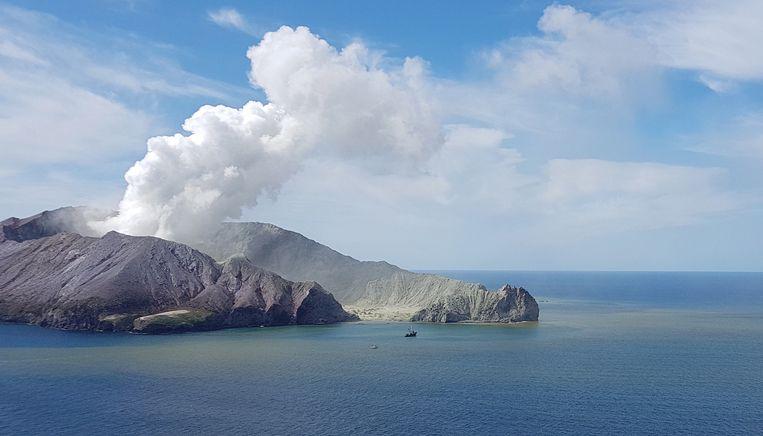White Island. Beeld EPA