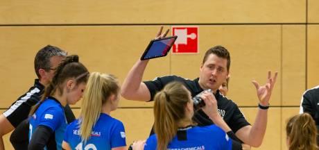 Regio Zwolle Volleybal krijgt geen kans meer om derde plaats te veroveren