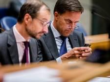 Positie premier Mark Rutte verzwakt