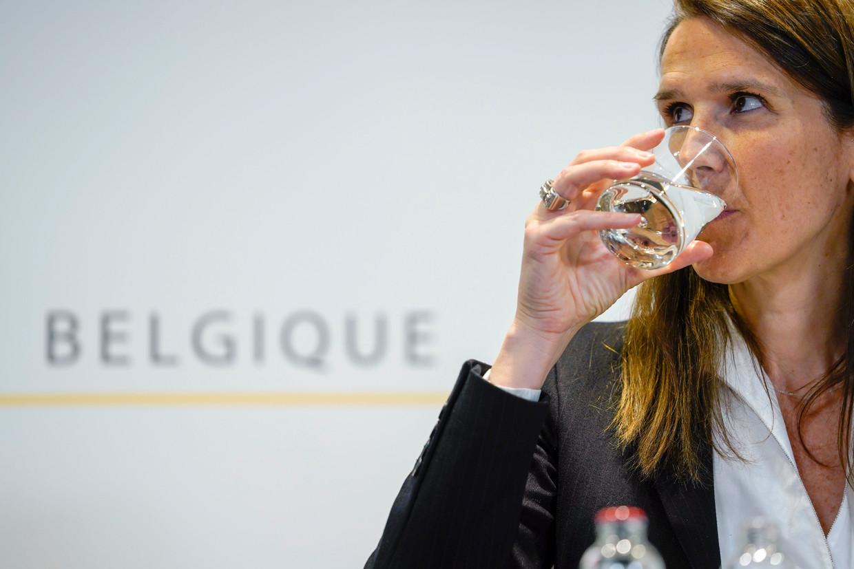 Premier Sophie Wilmès. Beeld Photo News
