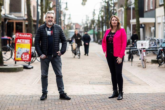 Gerben van der Kruk van Tattoo Gerben en Linda van Bergenhenegouwen van Linda's Feeling  openen 3 maart gewoon hun winkel.
