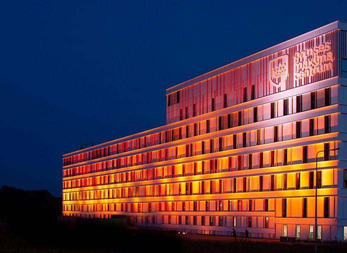 Het Prinses Máxima Centrum werd woensdag goud uitgelicht.
