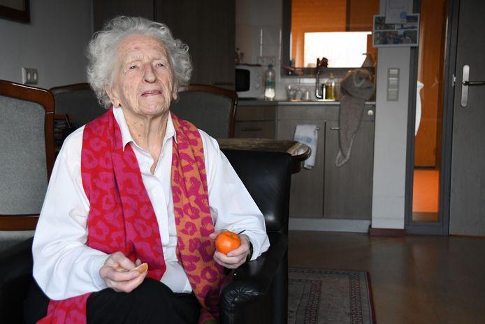 Marie de Bonth-Van Kessel: ,,Ik ben nog niet aan de sukkel.''