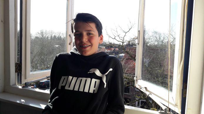 Figo Rutten is op 10 april jarig. Kan hij dat dan vieren met anderen?