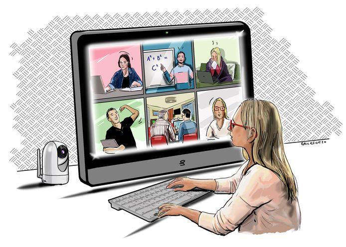 Het digitaal onderwijs heeft door corona een enorme vlucht genomen. Extra investeringen moeten het digitaal lesgeven in de Brainportregio verder professionaliseren.