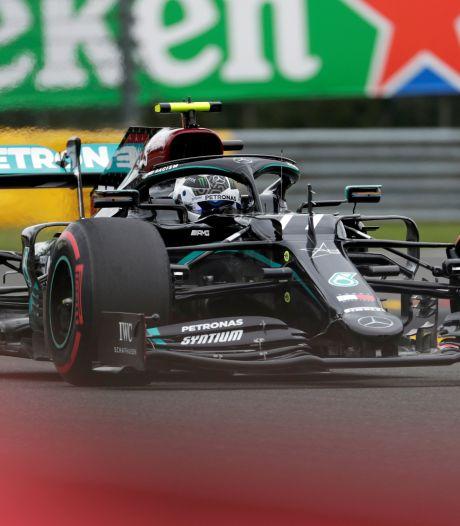 Bottas devance d'un rien Hamilton et Verstappen lors des premiers essais libres à Spa-Francorchamps