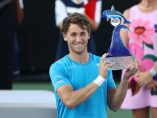 Casper Ruud wint ATP-titel in bijzijn Rod Laver: 'Hoop dat u volgende week in Indian Wells komt kijken'