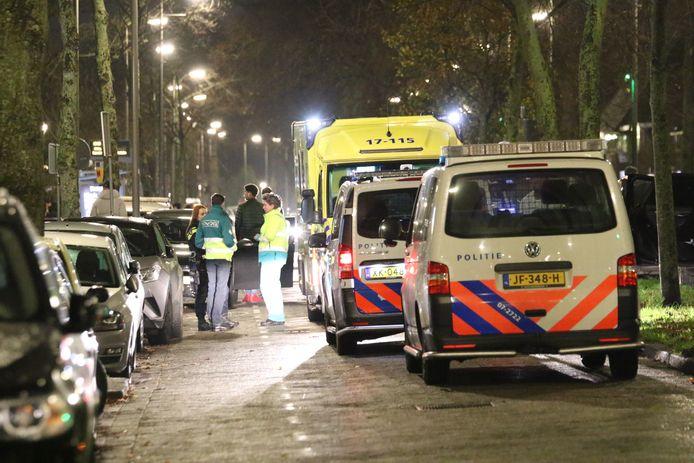 Er was veel politie op de been in Vreewijk na de uit de hand gelopen woningoverval.