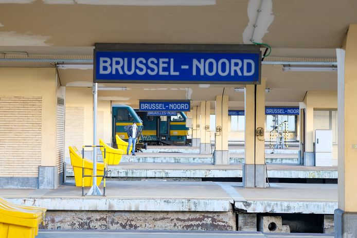 Station Brussel-Noord.