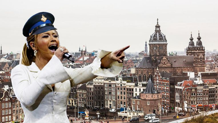 Amsterdam, let's get in formation Beeld anp