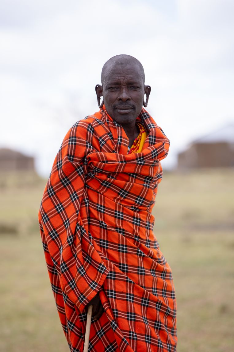 Mukwe Letolu: 'We hebben altijd goed voor de natuur gezorgd, maar ze is ons niet meer goedgezind.' Beeld Karim Kara