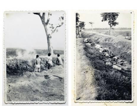 In 2012 doken deze foto's van standrechtelijke executies door Nederlandse troepen in Nederlands-Indië op.