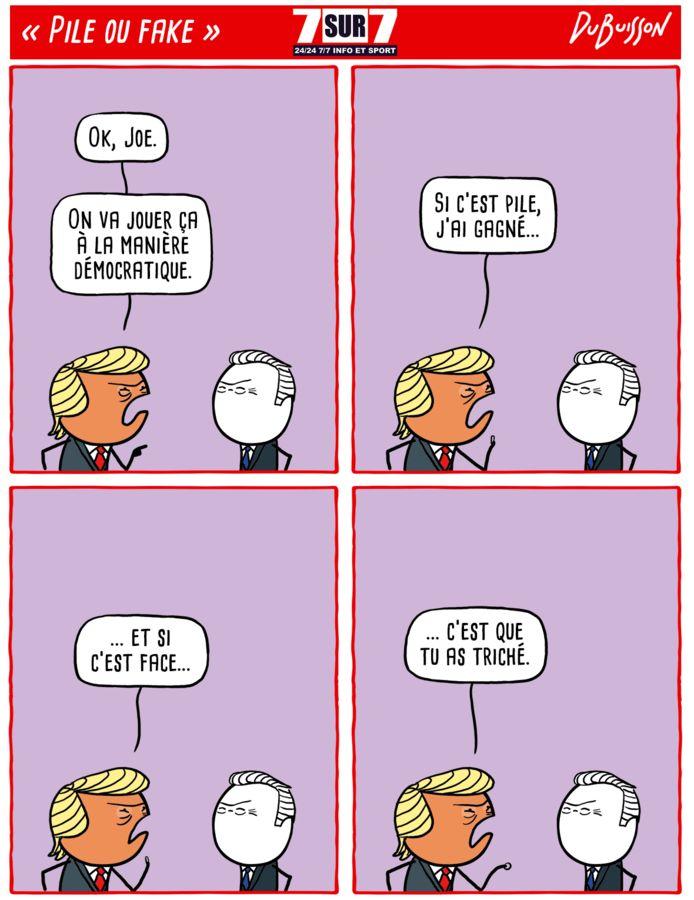 """""""Pile ou face"""", 2 novembre 2020."""